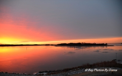 Sunrise over Marshy Creek