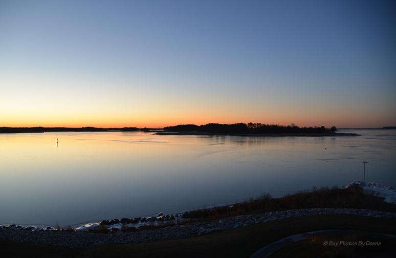 Sunrise over Marshy Creek January 8, 2014