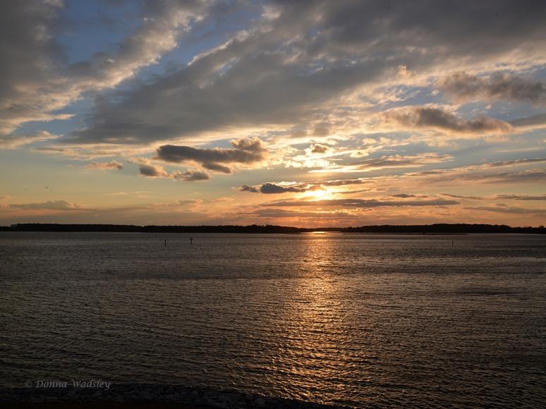 Sunset February 12, 2015