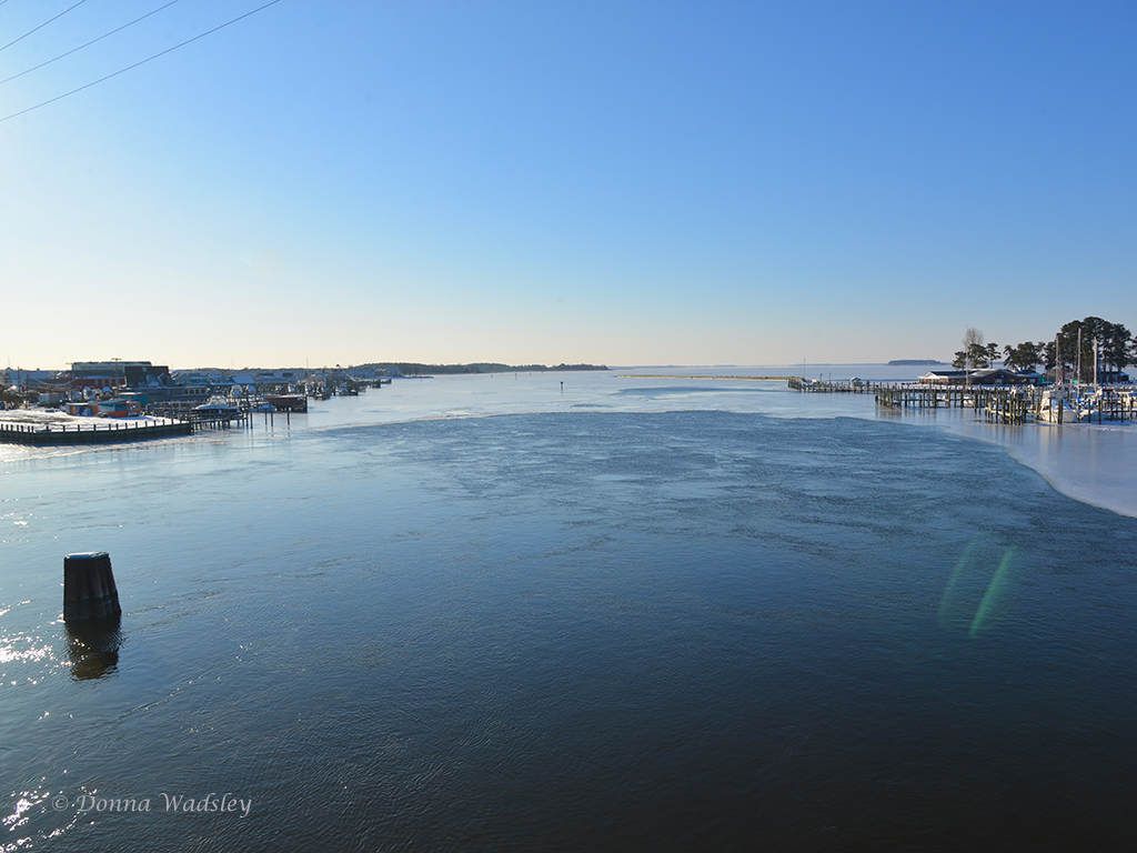 icy kent narrows channel