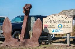 Displayed on Poplar Island on arrival
