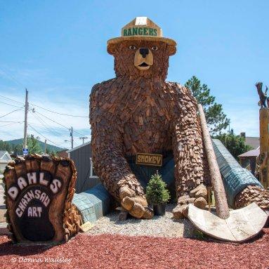 World's Largest Smokey the Bear