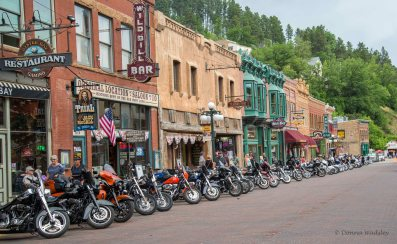 Popular with bikers after a cruise through the Black Hills