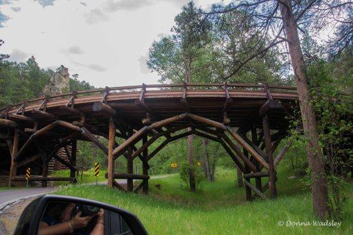 Pigtail bridge, Black Hills