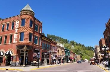 Historical Main Street Deadwood